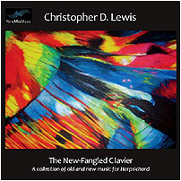 The New-Fangled Clavier CD cover
